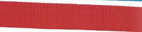 Gurtband rot Breite: 2,5cm 001