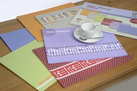 Platzset Tischset Papier 42x32cm