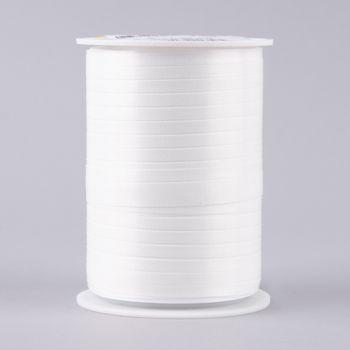 Geschenkband Polyband 200mx5mm weiß