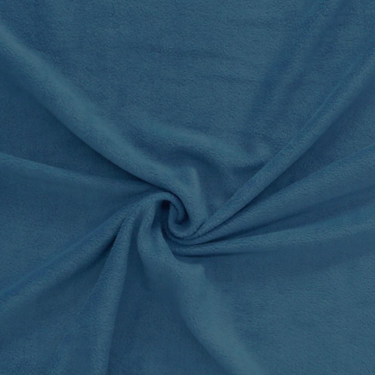 polar fleece stoffe fleecestoff dunkel petrol stoffe stoffe uni fleece. Black Bedroom Furniture Sets. Home Design Ideas