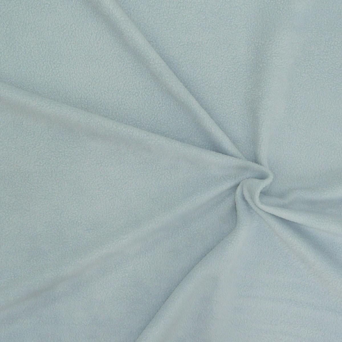 polar fleece stoffe fleecestoff hellblau babyblau alle stoffe stoffe uni fleece. Black Bedroom Furniture Sets. Home Design Ideas