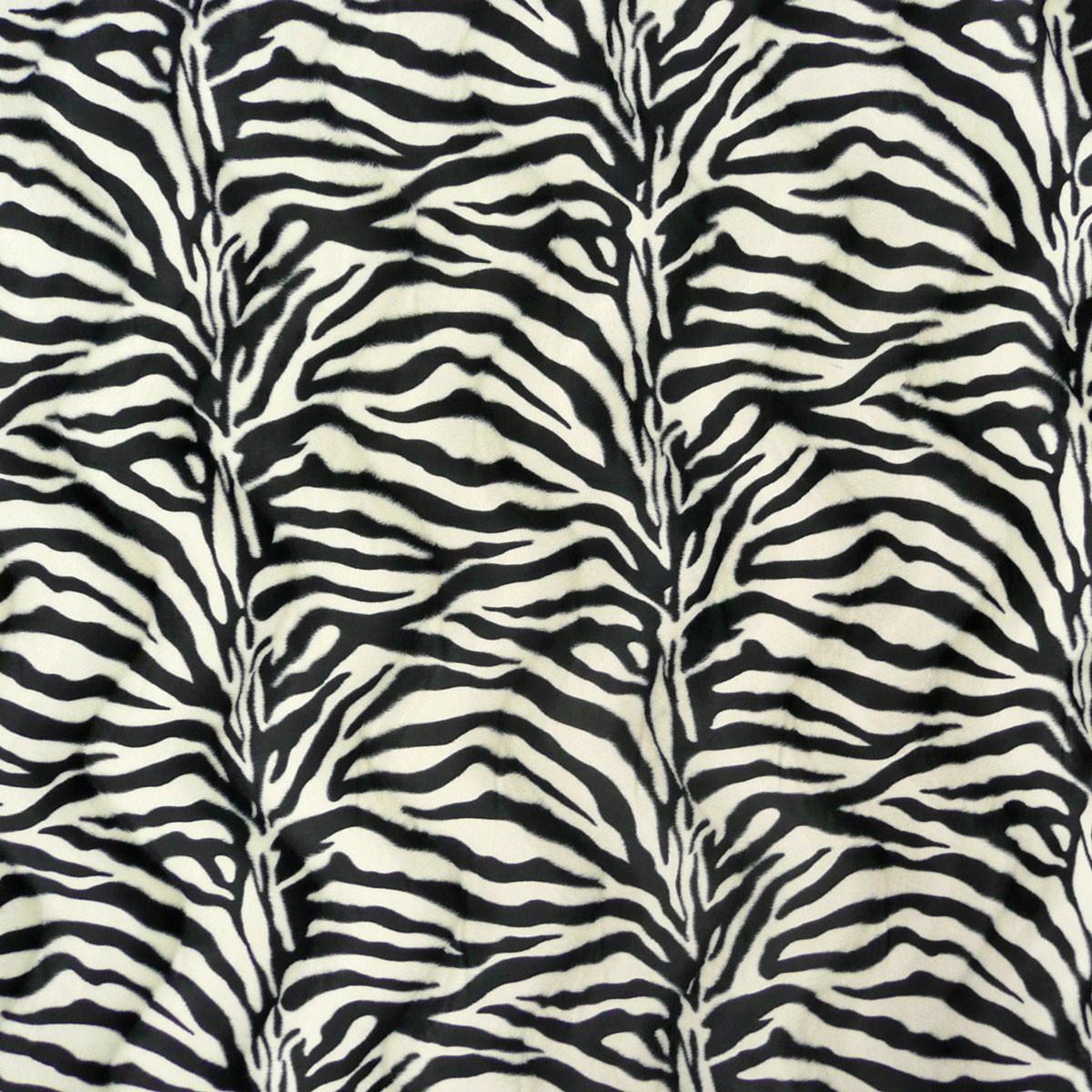 pl sch velour fellstoff fellimitat kunstfell stoff zebra meterware baunach. Black Bedroom Furniture Sets. Home Design Ideas