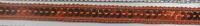 Band mit Pailletten orange Breite: 1cm 001