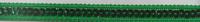 Band mit Pailletten grün Breite: 1cm 001