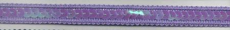 Band mit Pailletten flieder Breite: 1cm