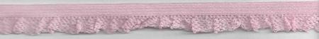 Gummiband mit Rüschen rosa Breite: 1,5cm