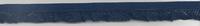 Gummiband mit Rüschen dunkelblau Breite: 1,5cm