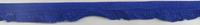 Gummiband mit Rüschen royalblau Breite: 1,5cm 001