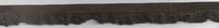 Gummiband mit Rüschen dunkelbraun Breite: 1,5cm 001