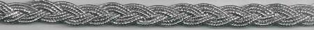 Band Glitzer silber Breite:1,5cm