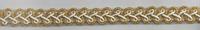 Band Glitzer gold Breite: 1cm 001