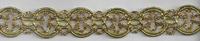 Band Glitzer gold Breite: 2cm 001
