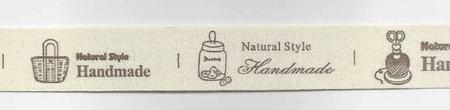 Baumwollband Handmade Breite: 2cm