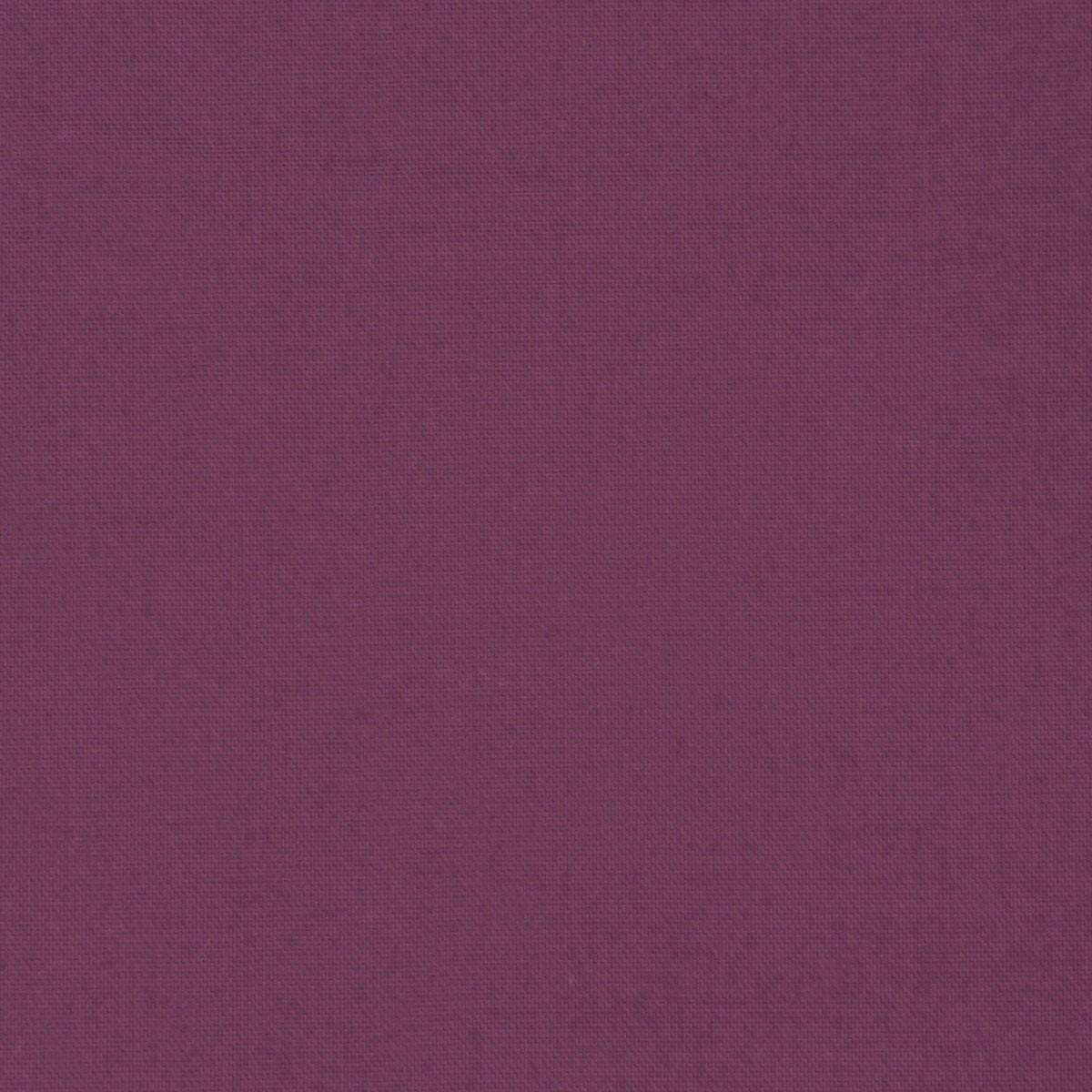 Halbpanama Dekostoff Baumwollstoff sanforisiert uni pflaume 1,40m breit