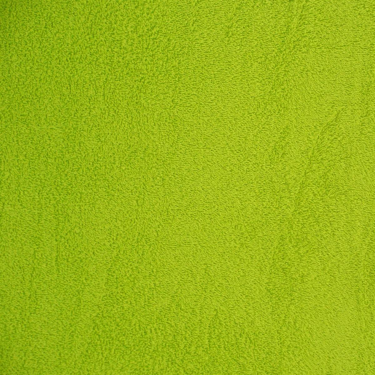 Frottee Handtuch Stoff apfelgrün
