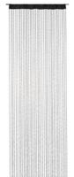 Fadenvorhang Fadengardine Charleston schwarz 90x250cm 001