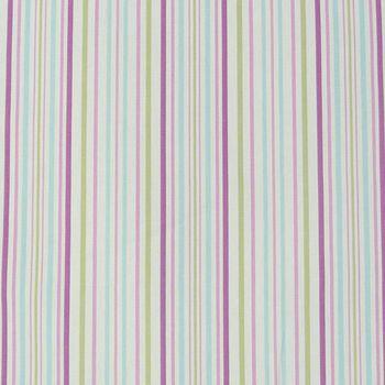 Clarke & Clarke Baumwollstoff Dekostoff Stoff Streifen Pastelltöne