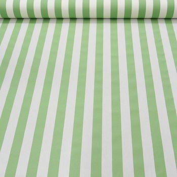 Outdoor Markisenstoff Gartenmöbelstoff Toldo Streifen grün weiß – Bild 3