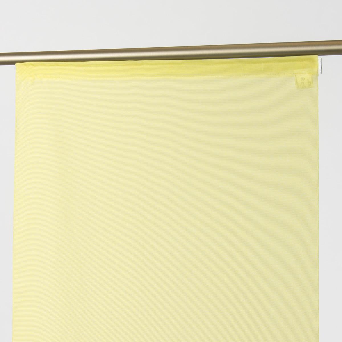 Schiebevorhang Flächenvorhang Saros uni grün 245x60cm