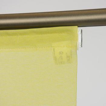 Schiebevorhang Flächenvorhang Saros uni grün 245x60cm – Bild 2