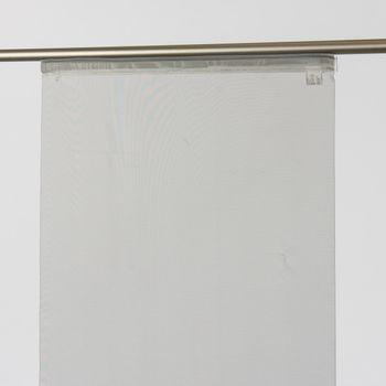 Schiebevorhang Flächenvorhang Adam uni grau 245x60cm