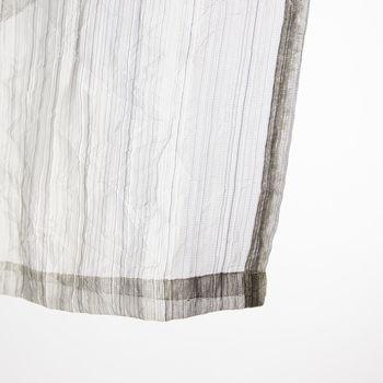Schlaufenschal Fertigvorhang Delhi silber 135x260cm – Bild 4