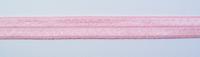 Gummiband Elastic Schrägband Zierband rosa weiß Punkte Breite: 1,5cm 001
