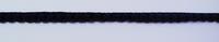 Bommelborte PomPom Borte Zierband mini schwarz Breite: 0,4cm