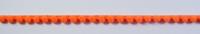 Bommelborte PomPom Borte Zierband mini orange Breite: 0,4cm 001