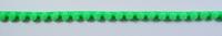 Bommelborte PomPom Borte Zierband mini neon grün Breite: 0,4cm 001