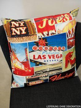 Schöner Leben Kissenhülle Las Vegas 50x50cm