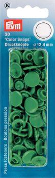 Prym Color Snaps Druckknöpfe Ø12,4mm grün