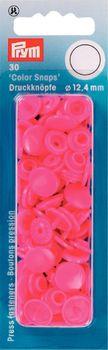Prym Color Snaps Druckknöpfe Ø12,4mm pink