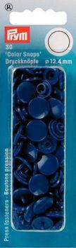 Prym Color Snaps Druckknöpfe Ø12,4mm blau