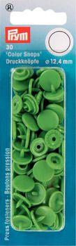 Prym Color Snaps Druckknöpfe Ø12,4mm hellgrün