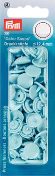 Prym Color Snaps Druckknöpfe Ø12,4mm hellblau
