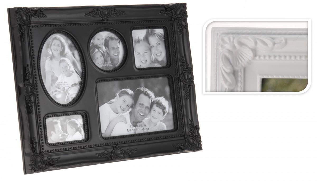 Bilderrahmen Fotorahmen Collage romantisch 32x26cm | eBay