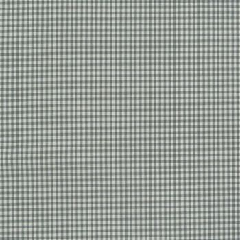 Baumwollstoff kariert weiß hellgrau 5mm