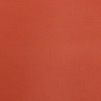 Kreativstoff Baumwollstoff Fahnentuch einfarbig terrakotta