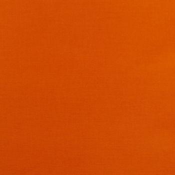 Kreativstoff Baumwollstoff Fahnentuch einfarbig orange
