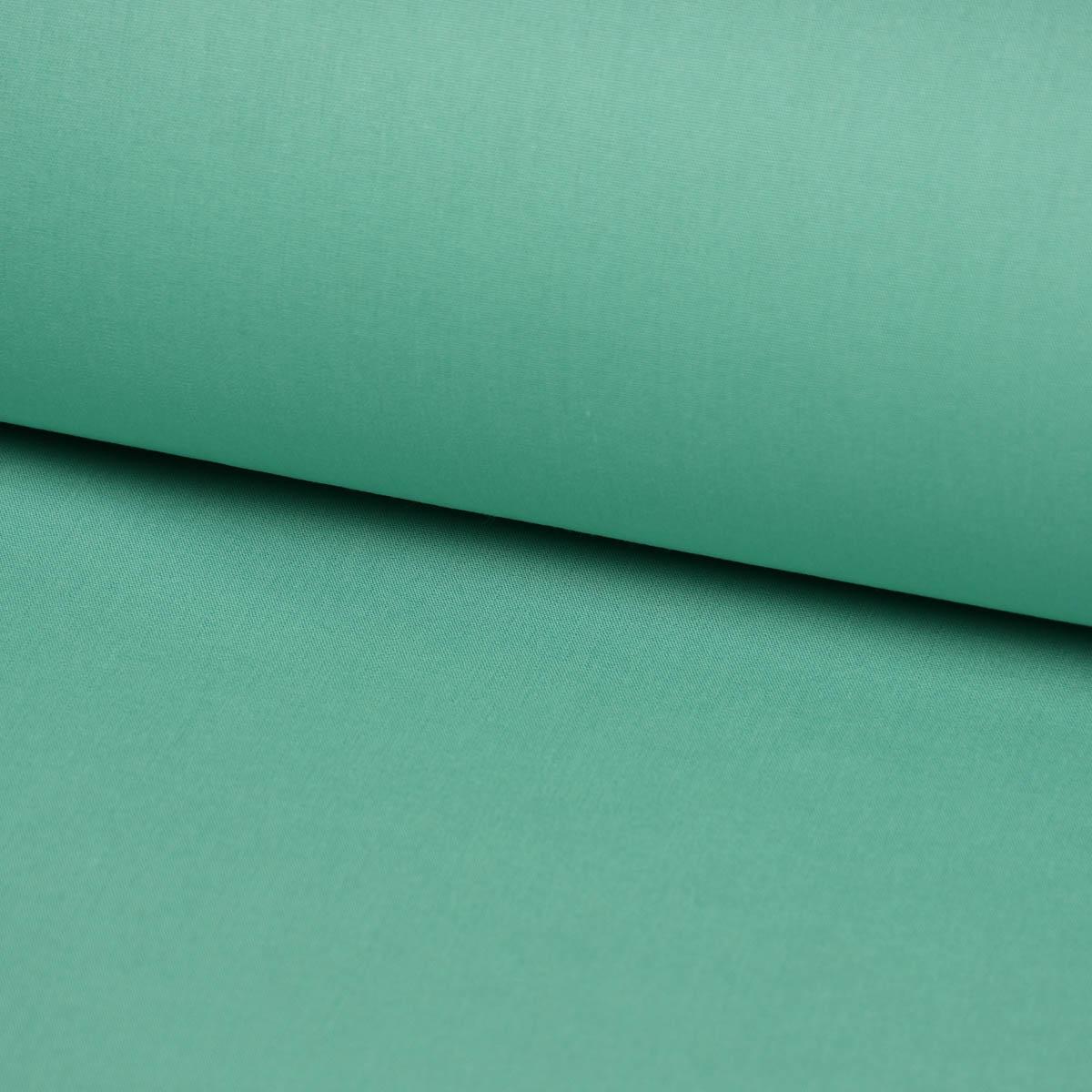 Kreativstoff Baumwollstoff Fahnentuch einfarbig lindgrün 1,45m Breite