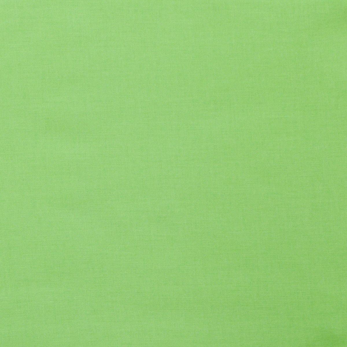 Kreativstoff Baumwollstoff Fahnentuch einfarbig apfelgrün 1,45m Breite