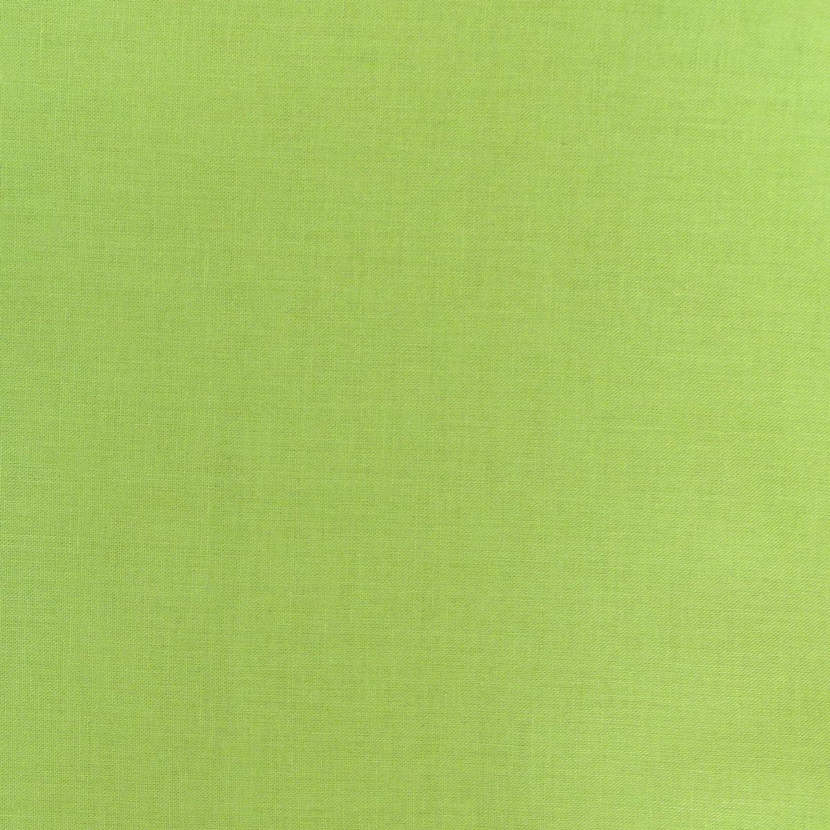 Kreativstoff Baumwollstoff Fahnentuch einfarbig lime 1,45m Breite