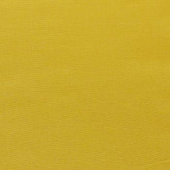 Kreativstoff Baumwollstoff Fahnentuch einfarbig dunkelgelb 1,45m Breite