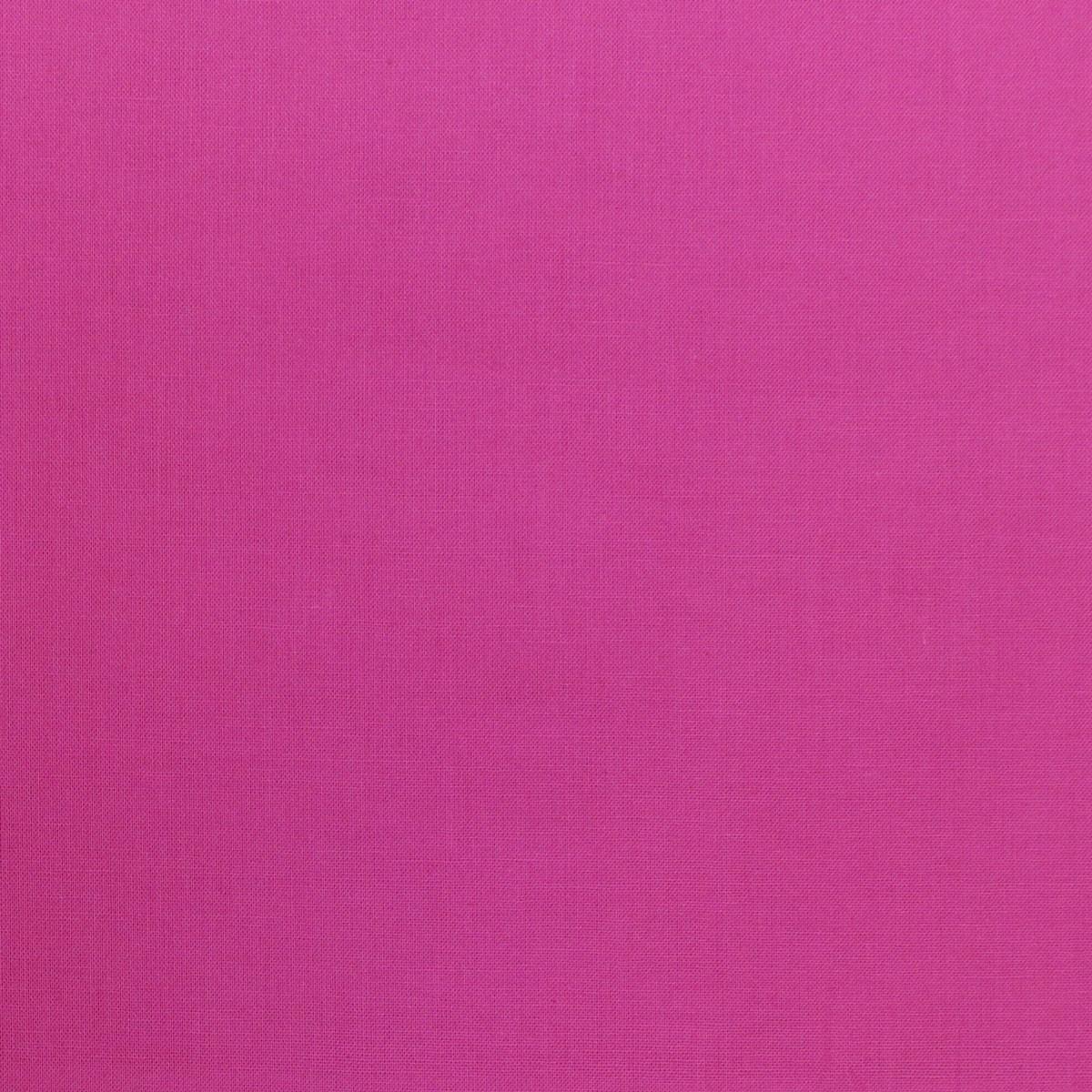 Kreativstoff Baumwollstoff Fahnentuch einfarbig pink 1,45m Breite