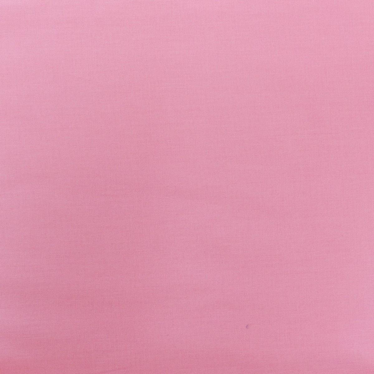 Kreativstoff Baumwollstoff Fahnentuch einfarbig rosa 1,45m Breite