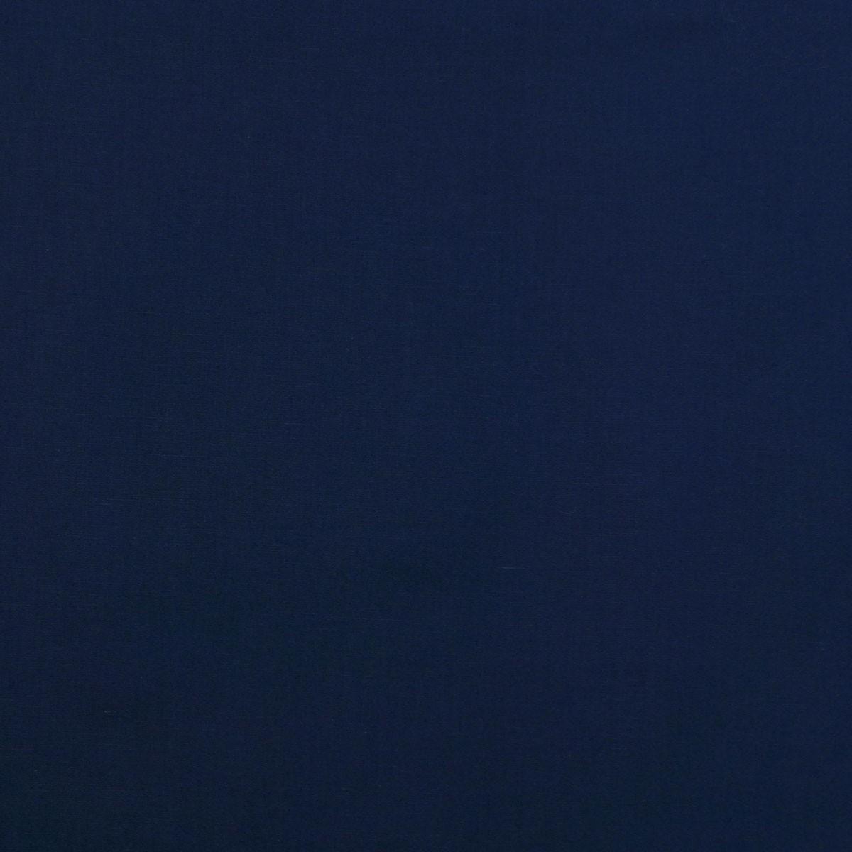 Kreativstoff Baumwollstoff Fahnentuch einfarbig dunkelblau 1,45m Breite