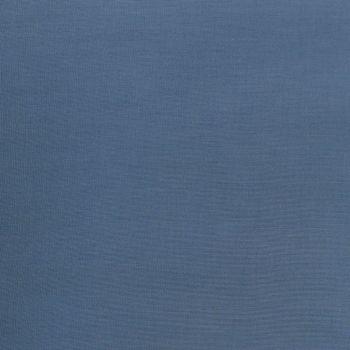 Kreativstoff Baumwollstoff Fahnentuch einfarbig rauchblau 1,45m Breite