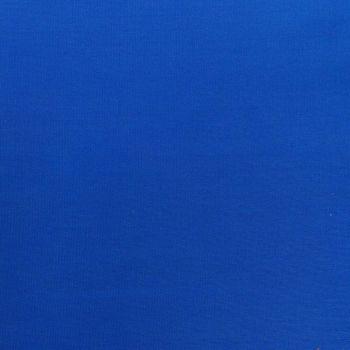Kreativstoff Baumwollstoff Fahnentuch einfarbig königsblau