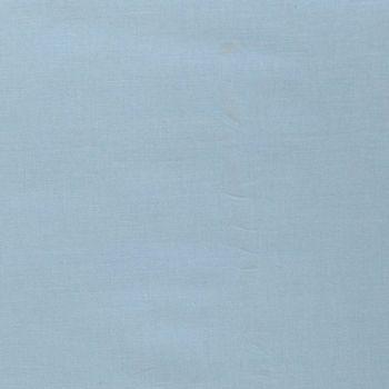Kreativstoff Baumwollstoff Fahnentuch einfarbig babyblau 1,45m Breite